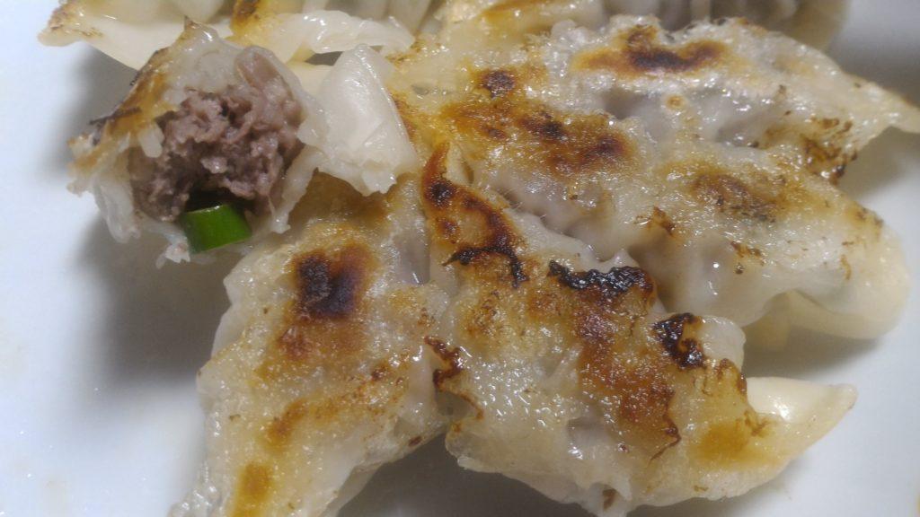 にんにくの芽餃子
